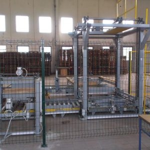 Linija za automatsko paletiziranje i strečovanje