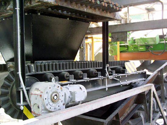 BFC Lafarge – a cement factory: Dosing conveyors
